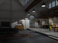 Wnętrze w stylu loft - industrialne trendy ciągle w modzie