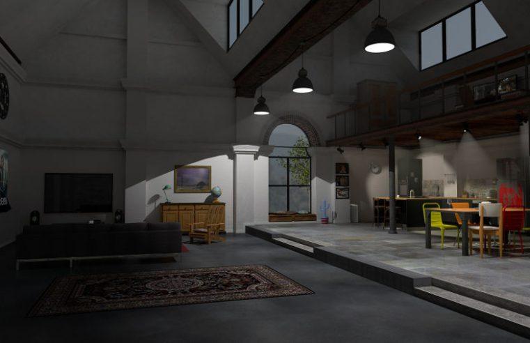 Wnętrze w stylu loft – industrialne trendy ciągle w modzie